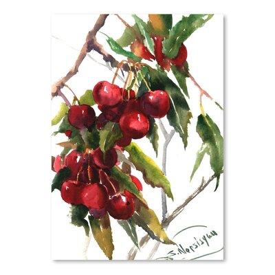Americanflat Cherries Art Print