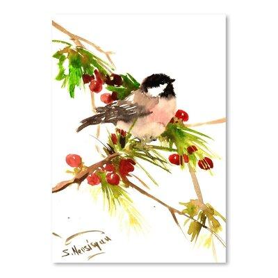 Americanflat Chickadee 1 by Suren Nersisyan Art Print