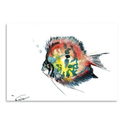 Americanflat Rainbow Discus by Suren Nersisyan Art Print