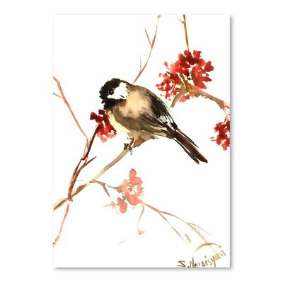Americanflat Chickadee 11 by Suren Nersisyan Art Print