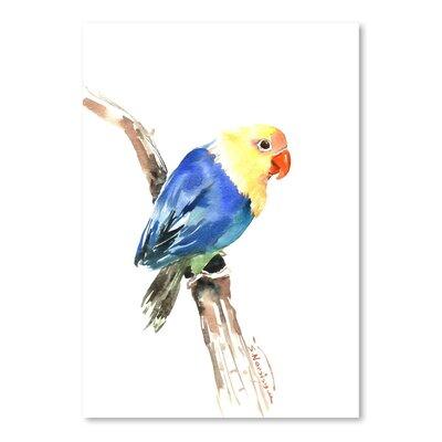 Americanflat Lovebird Art Print