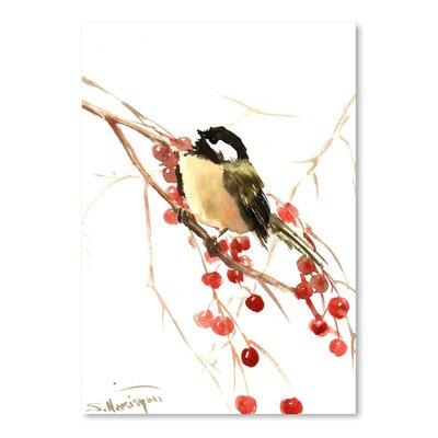 Americanflat Chickadee 7 by Suren Nersisyan Art Print