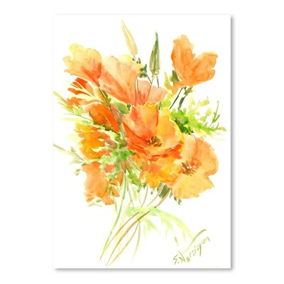 Americanflat California Poppies by Suren Nersisyan Art Print