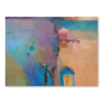 Americanflat Moroccan Twilight Art Print Wrapped on Canvas