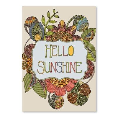 Americanflat Hello Sunshine Graphic Art