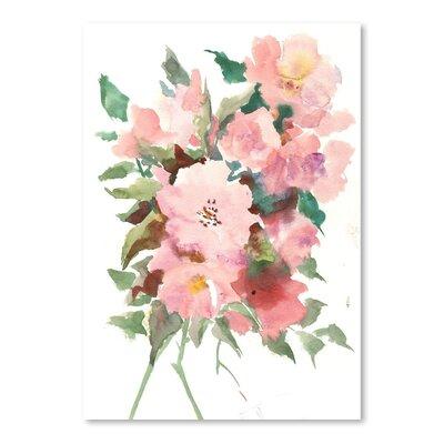 Americanflat Wild Roses Art Print