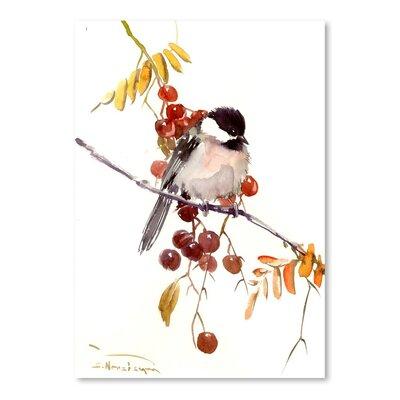 Americanflat Chickadee by Suren Nersisyan Art Print