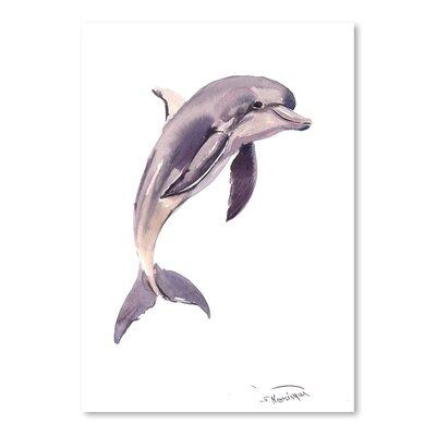 Americanflat Dolphin Art Print