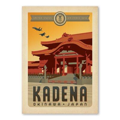 Americanflat Kadena Vintage Advertisement