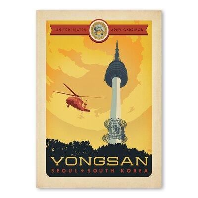 Americanflat Yongsan Vintage Advertisement