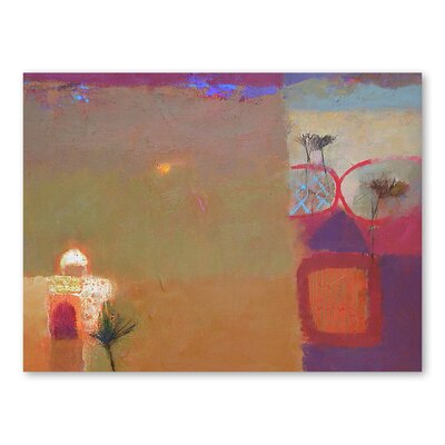 Americanflat Thar Desert Shrine Art Print Wrapped on Canvas
