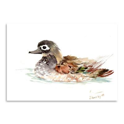 Americanflat Duck by Suren Nersisyan Art Print