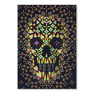 Americanflat Skull 6 Graphic Art