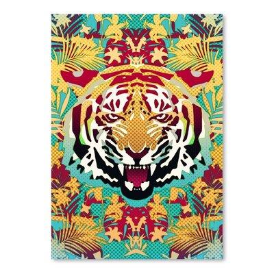 Americanflat Tiger 2 Print Graphic Art