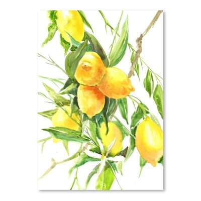 Americanflat Lemon Tree Art Print