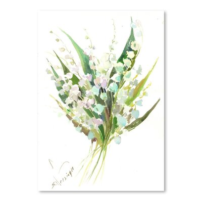 Americanflat Lilies Of The Valley by Suren Nersisyan Art Print