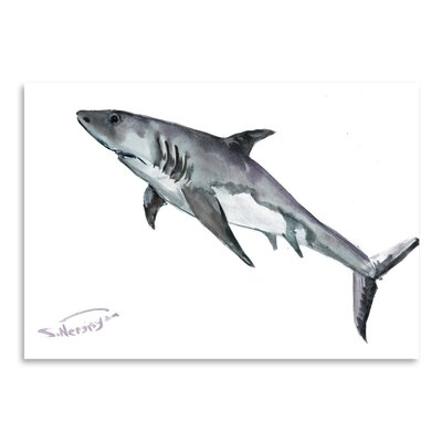 Americanflat Shark Art Print