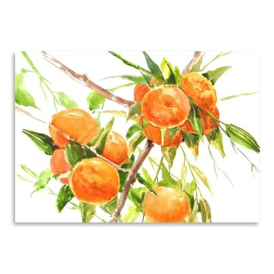 Americanflat Oranges Art Print