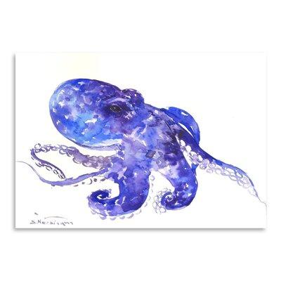 Americanflat Octopus by Suren Nersisyan Art Print