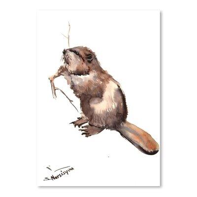 Americanflat Beaver by Suren Nersisyan Art Print