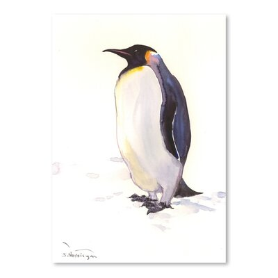 Americanflat Penguin by Suren Nersisyan Art Print