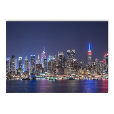Americanflat Night Skylines Photographic Print