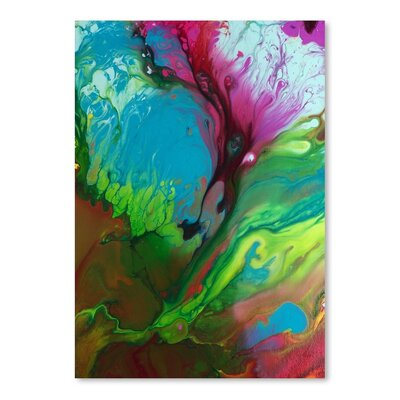 Americanflat Raw Emotion Art Print Wrapped on Canvas