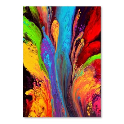 Americanflat Reaching for Heaven Graphic Art Wrapped on Canvas
