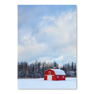 Americanflat Snow House Photographic Print