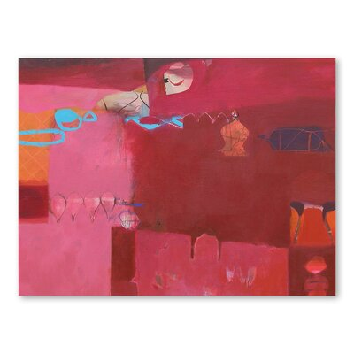 Americanflat Ajmer Pinks Art Print Wrapped on Canvas