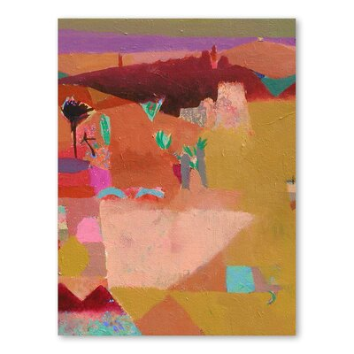 Americanflat Atlas Angles Art Print