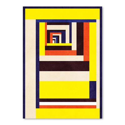 Americanflat Out Graphic Art Wrapped on Canvas