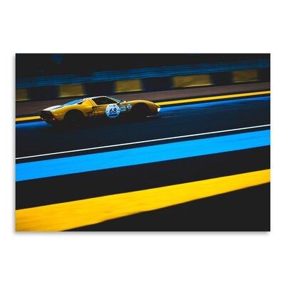 Americanflat Yellow 68 Photographic Print