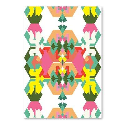 Americanflat Pattern 2015 Graphic Art on Wrapped on Canvas