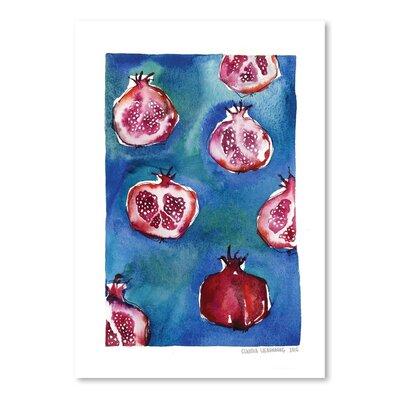 Americanflat Pattern Pomegranate Art Print