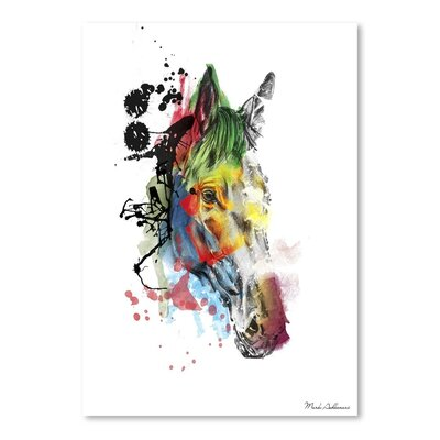 Americanflat Beauty Art Print Wrapped on Canvas