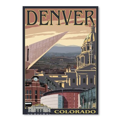 Americanflat 33283 Vintage Advertisement Wrapped on Canvas