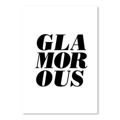 Americanflat Glamorous Typography in Black