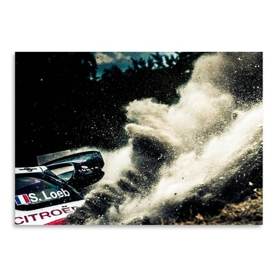 Americanflat S Loeb Photographic Print Wrapped on Canvas