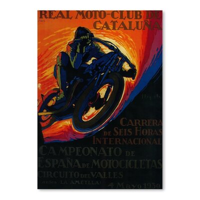 Americanflat 1979 Vintage Advertisement Wrapped on Canvas