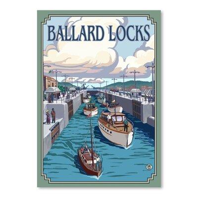 Americanflat Ballard Locks Vintage Advertisement