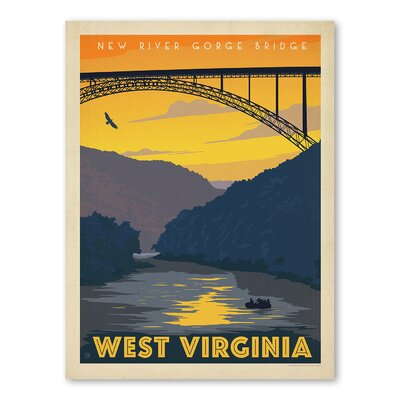 Americanflat Asa West Virginia Vintage Advertisement