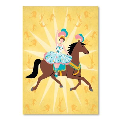 Americanflat Circus 2 Graphic Art Wrapped on Canvas