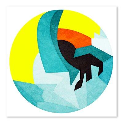 Americanflat Sfinx Graphic Art