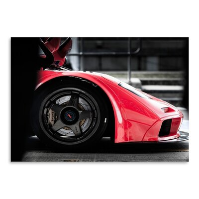 Americanflat Car 2 Photographic Print Wrapped on Canvas