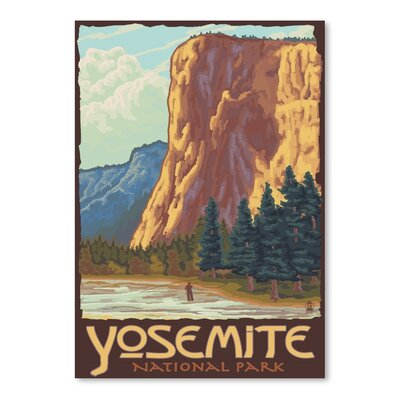 Americanflat Yosemite Vintage Advertisement