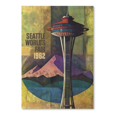 Americanflat 9228 Vintage Advertisement Wrapped on Canvas