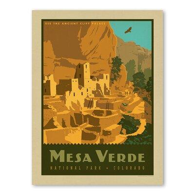 Americanflat Asa Mesa Verde National Park Vintage Advertisement