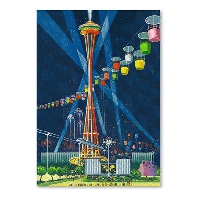 Americanflat Seattle World's Fair Graphic Art