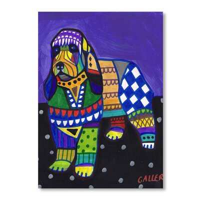 Americanflat Briquet Art Print Wrapped on Canvas